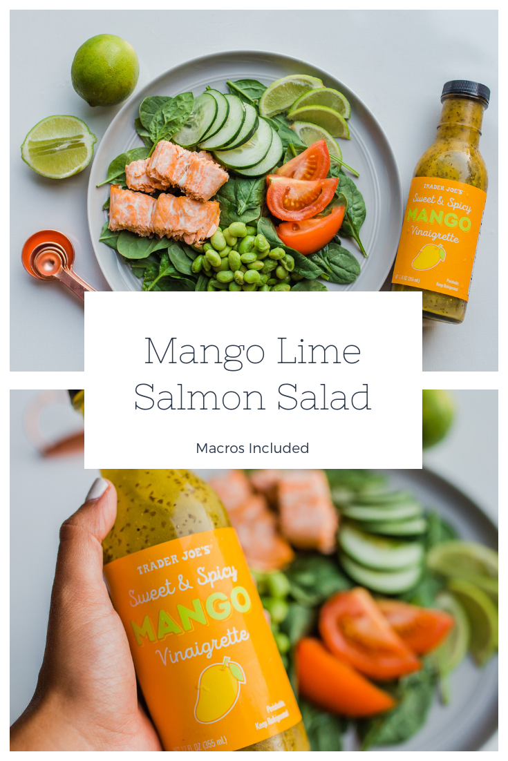 Mango Salmon Salad